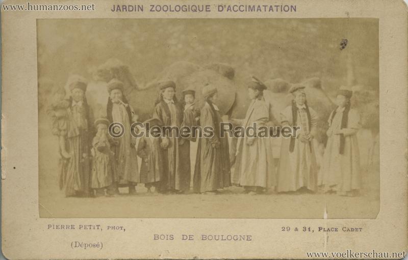 1883 Kalmouks Jardin d'Acclimatation CDV 9 VS