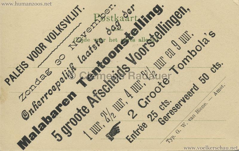 1902 (?) J. & G. Hagenbeck's Malabares-Truppe - Zauberer RS