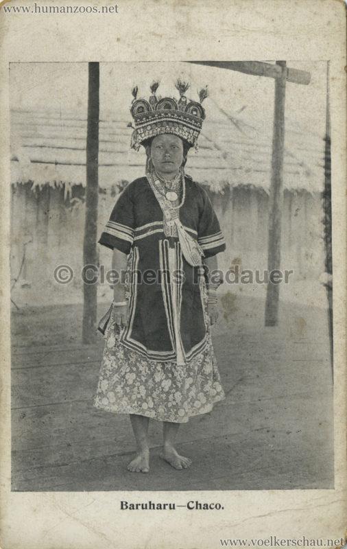 1910 Japan-British Exhibition - Formosa Village - Baruharu Chaco