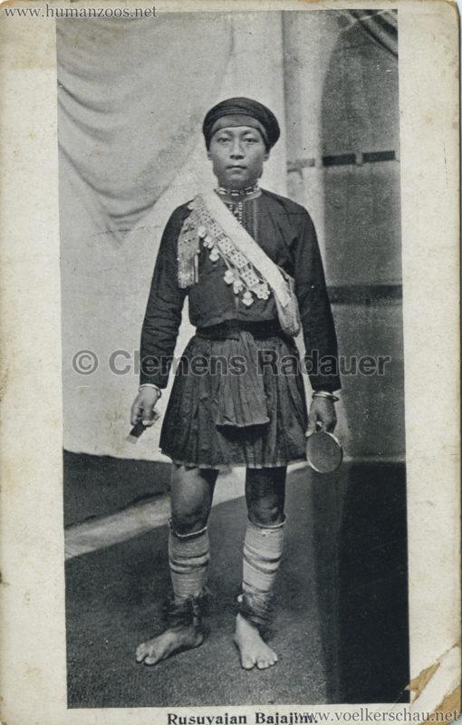 1910 Japan-British Exhibition - Formosa Village - Rusuvajan Bajajim
