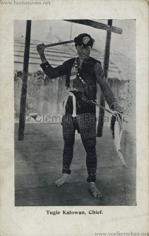 1910 Japan-British Exhibition - Formosa Village - Tugie Kalwoan VS