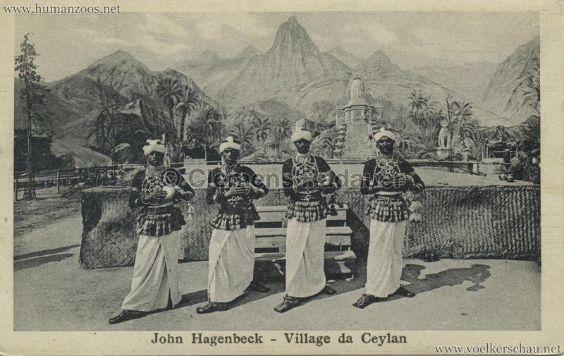 1926 John Hagenbeck - Village da Ceylan 3