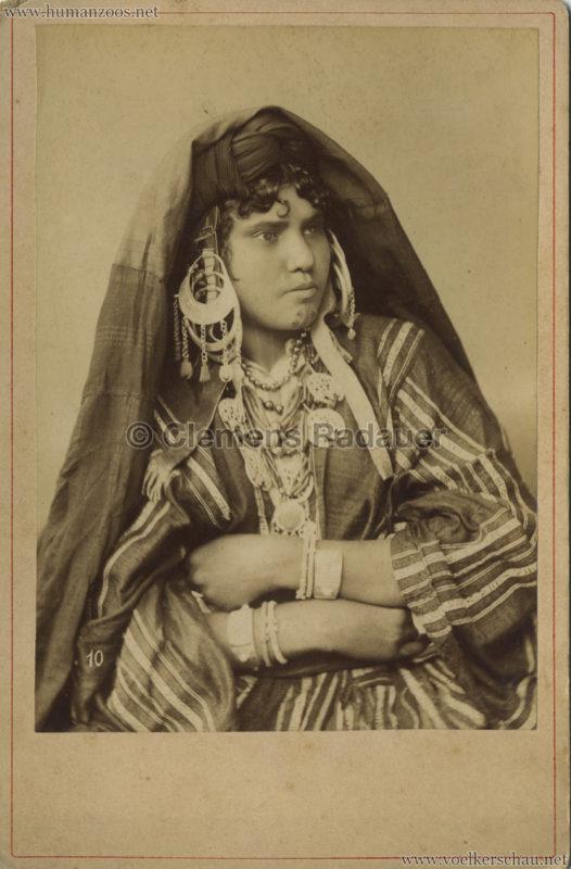 1891 Caravane Egyptienne - Paris Jardin d'Acclimatation CDV 2 VS