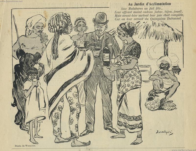 1902.09.21 Le Courier Francais - Malabares