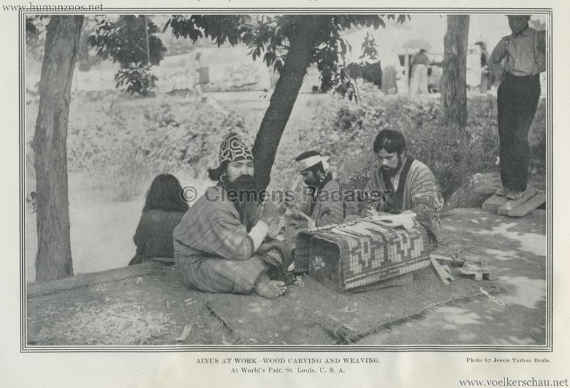 1904 St. Louis World's Fair - Ainus at work