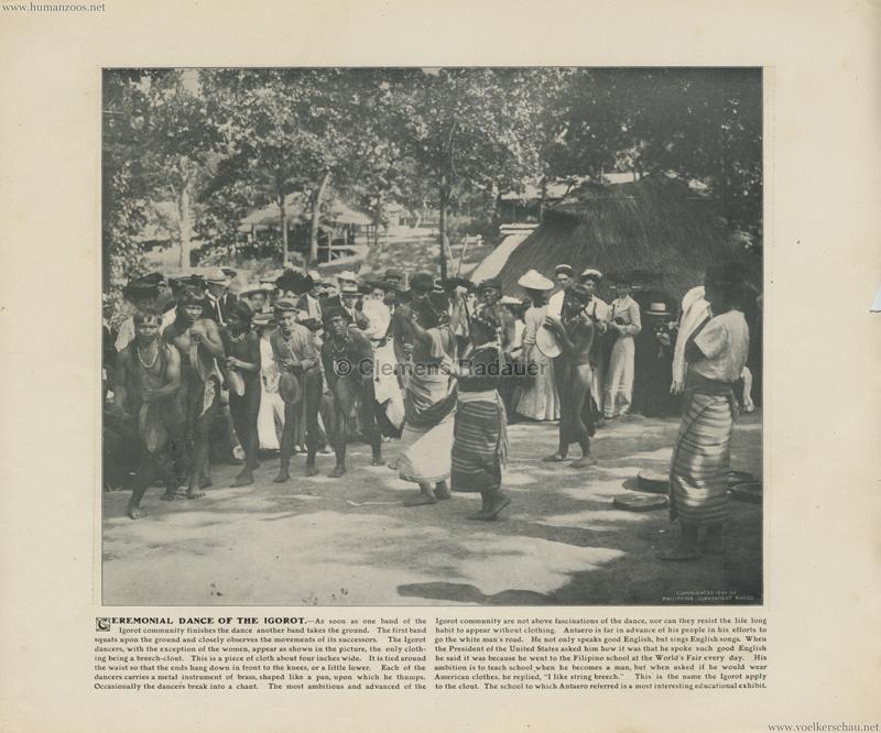 1904 St. Louis World's Fair - Ceremonial dance of the Igorot