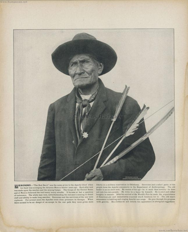 1904 St. Louis World's Fair - Geronimo