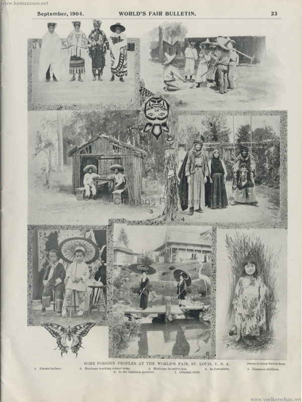 1904 St. Louis World's Fair - Some foreign peoples