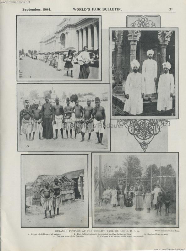 1904 St. Louis World's Fair - Strange Peoples at the Fair