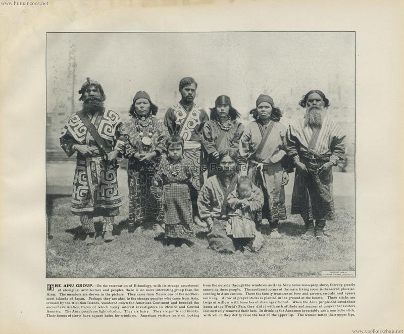 1904 St. Louis World's Fair - The Ainu Group