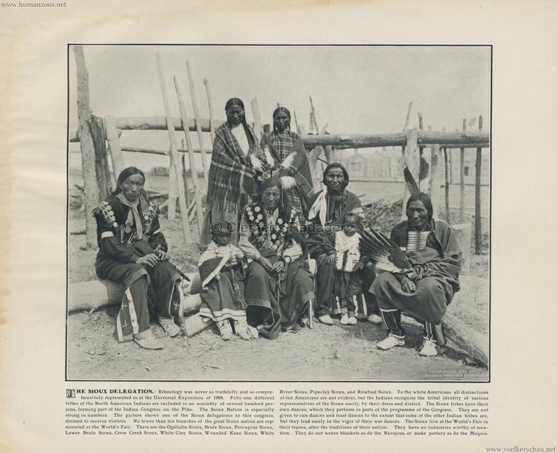 1904 St. Louis World's Fair - The Sioux delegation