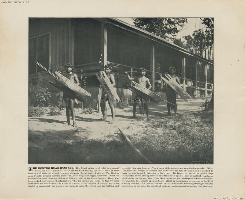 1904 St. Louis World's Fair - The bontoc head hunters