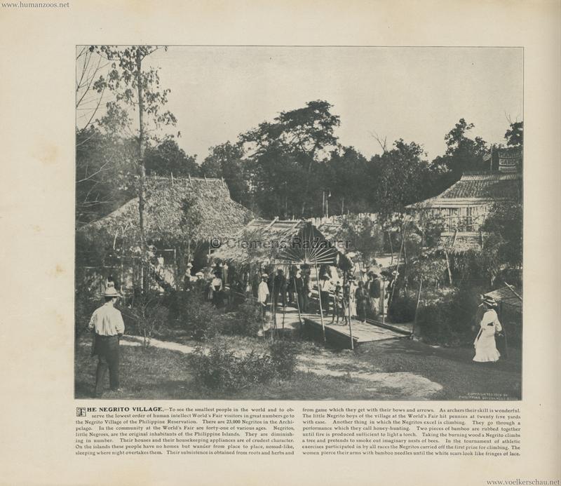 1904 St. Louis World's Fair - The negrito Village