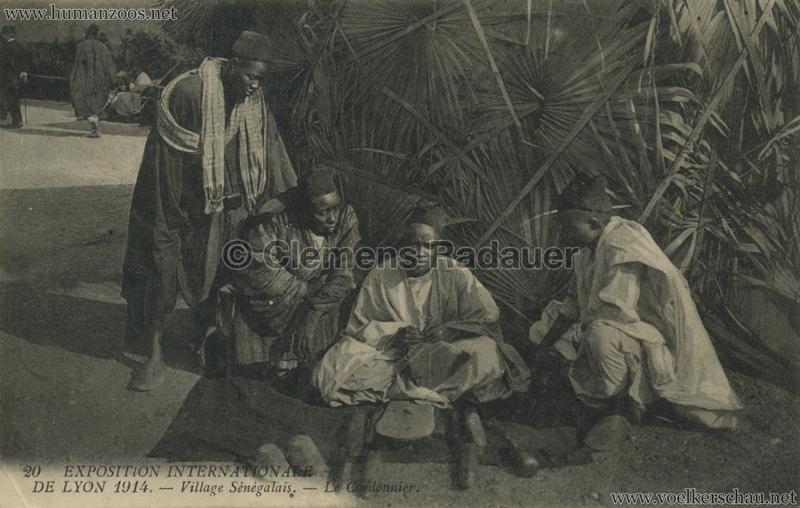 1914 Exposition Coloniale Lyon - Village Sénégalais 20. Le Cordonnier