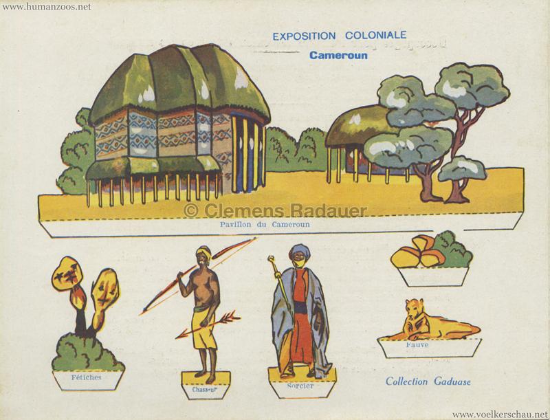1931 Exposition Coloniale Internationale Paris - Collection - Cameroun