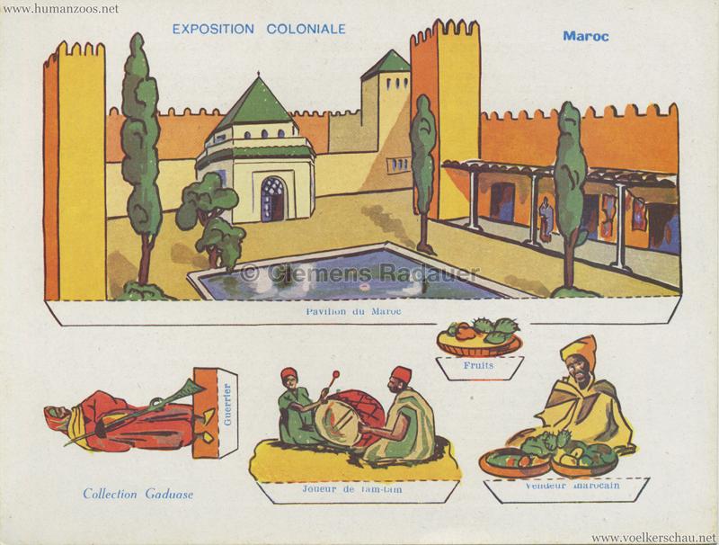1931 Exposition Coloniale Internationale Paris - Collection Gaduase - Maroc