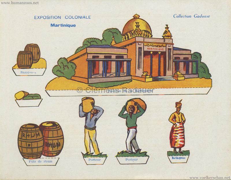 1931 Exposition Coloniale Internationale Paris - Collection Gaduase - Martinique