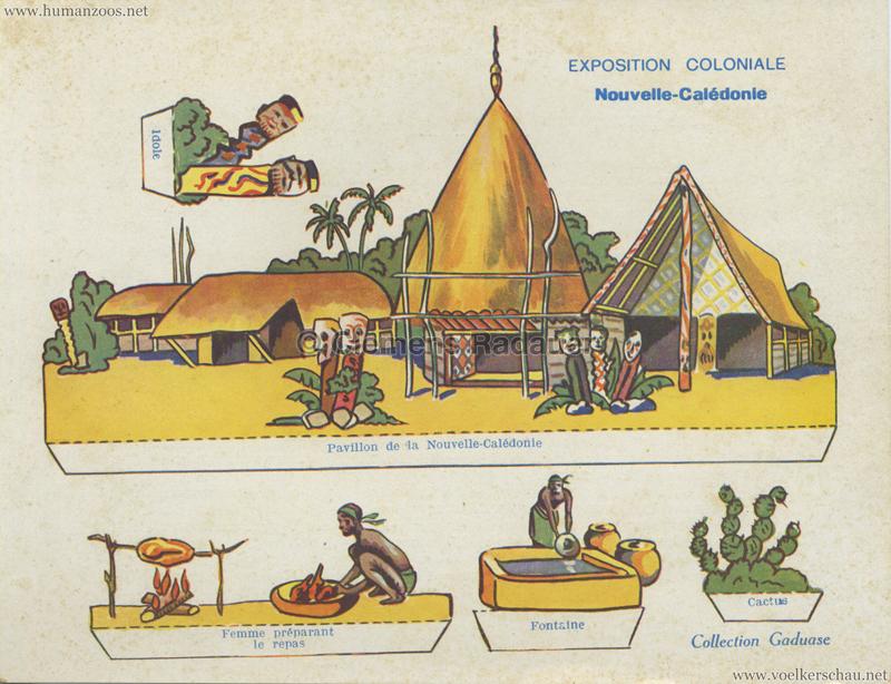 1931 Exposition Coloniale Internationale Paris - Collection Gaduase - Nouvelle Caledonie