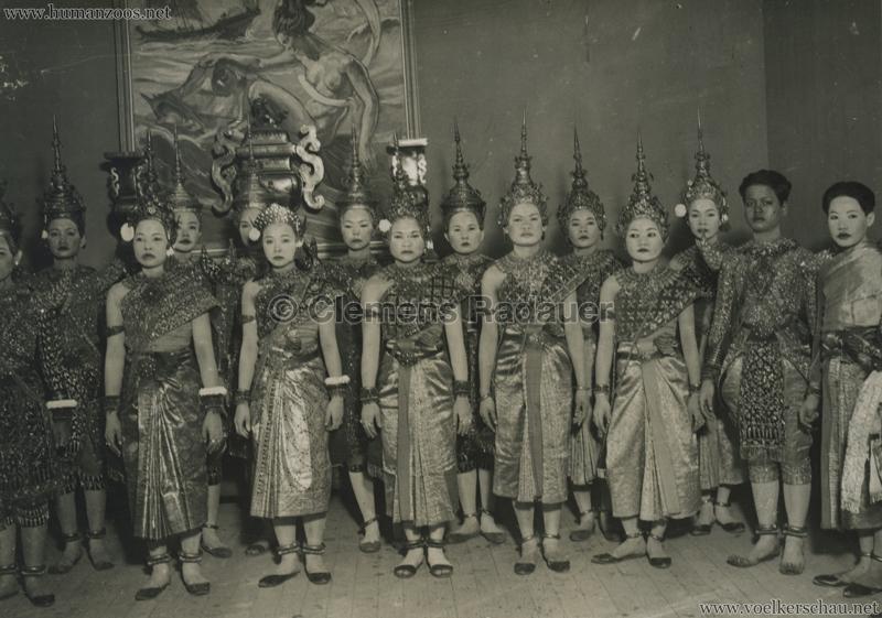 1931 Exposition Coloniale Internationale Paris - Danseuses Cambodgiennes 2 - PRESSEFOTO