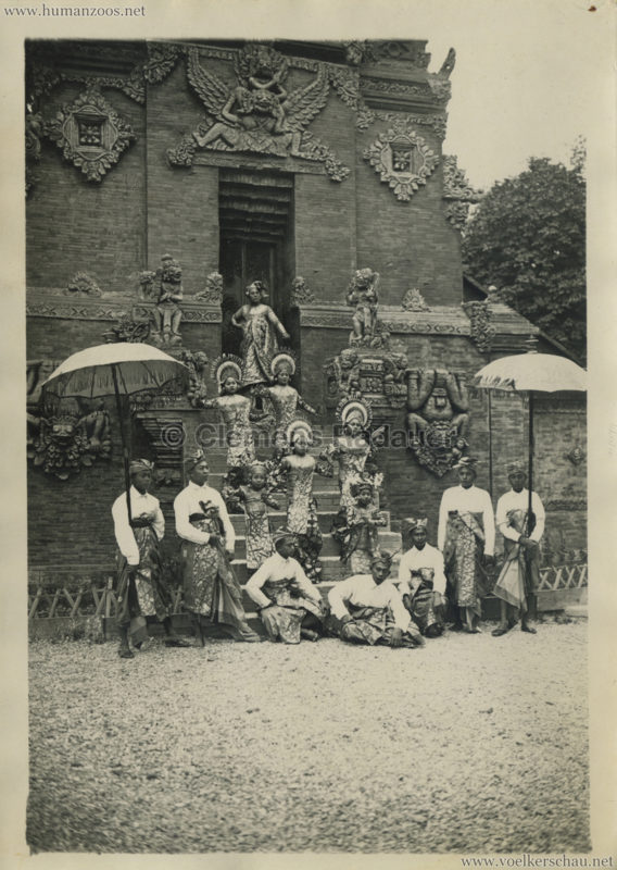 1931 Exposition Coloniale Internationale Paris - Danseuses de Bali - PRESSEFOTO