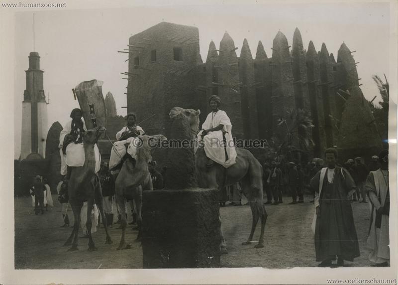 1931 Exposition Coloniale Internationale Paris - Indigenes AOF - PRESSEFOTO VS