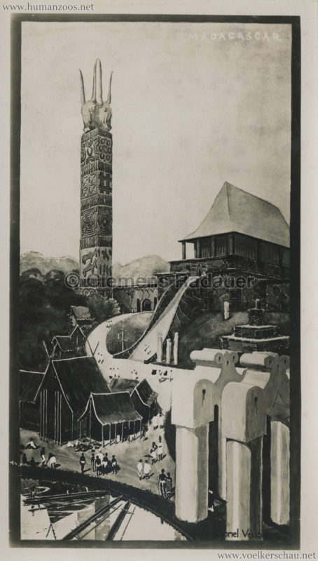1931 Exposition Coloniale Internationale Paris - Madagaskar - PRESSEFOTO