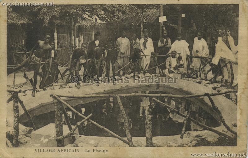 Village Africain - La piscine