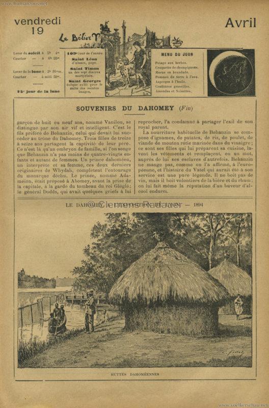1894 Le Dahomey a l'Exposition de Lyon 3