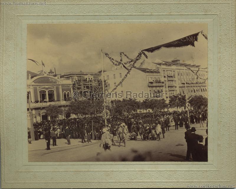 1898 Festejos do Centenario da India - Afrikaner Parade VS