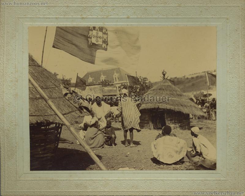 1898 Festejos do Centenario da India - Afrikanisches Dorf VS