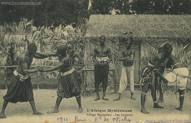 1911 L'Afrique Mystérieuse - Jardin d'Acclimatation - Les Lutteurs