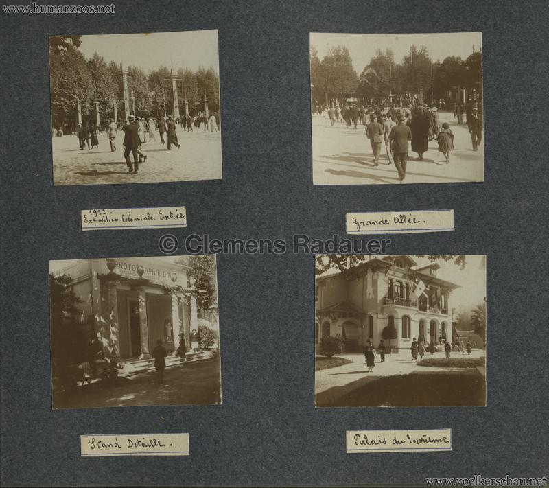 1922 Exposition Coloniale Marseille FOTO - Serie 5 1
