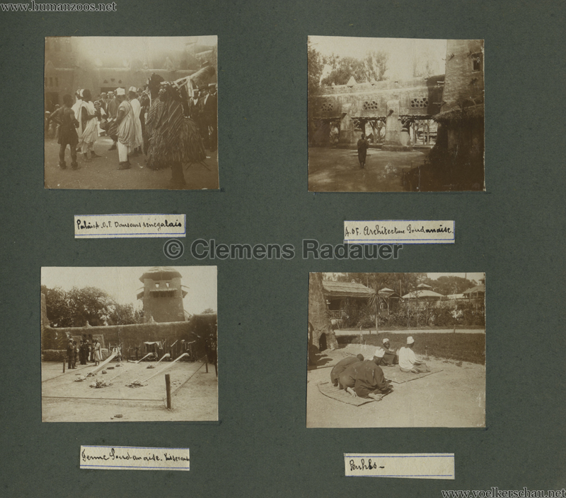 1922 Exposition Coloniale Marseille FOTO - Serie 5 11