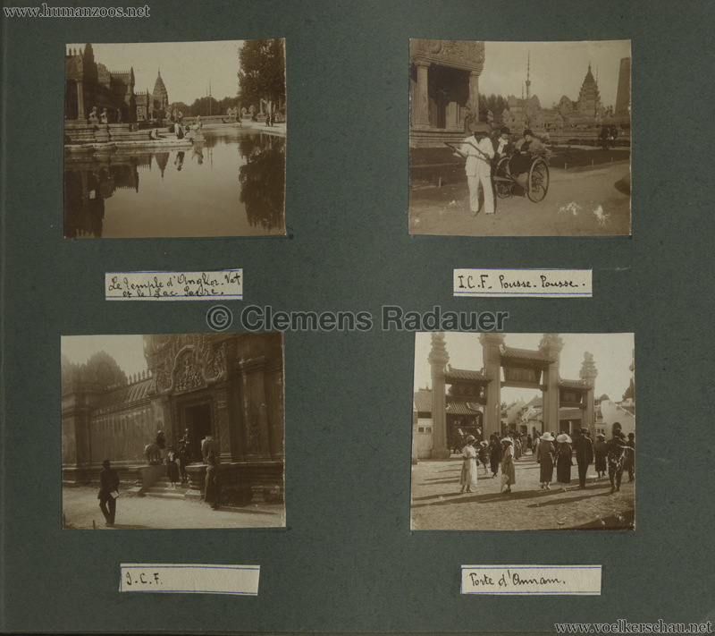 1922 Exposition Coloniale Marseille FOTO - Serie 5 4