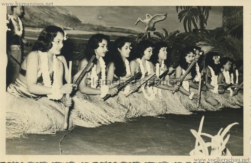 1958 Exposition Universelle de Bruxelles - Village Hawaien FOTO VS