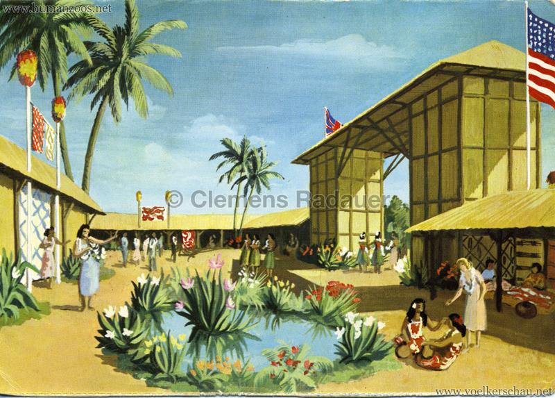 1958 Exposition Universelle de Bruxelles - Village Hawaien