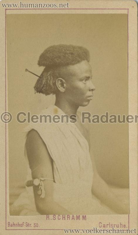 1885 (?) Hagenbeck Nubien:Somali 4