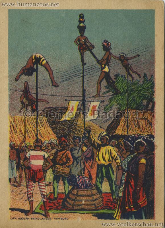 1906 Gustav Hagenbeck. Groote indische Tentoonstelling FLYER VS