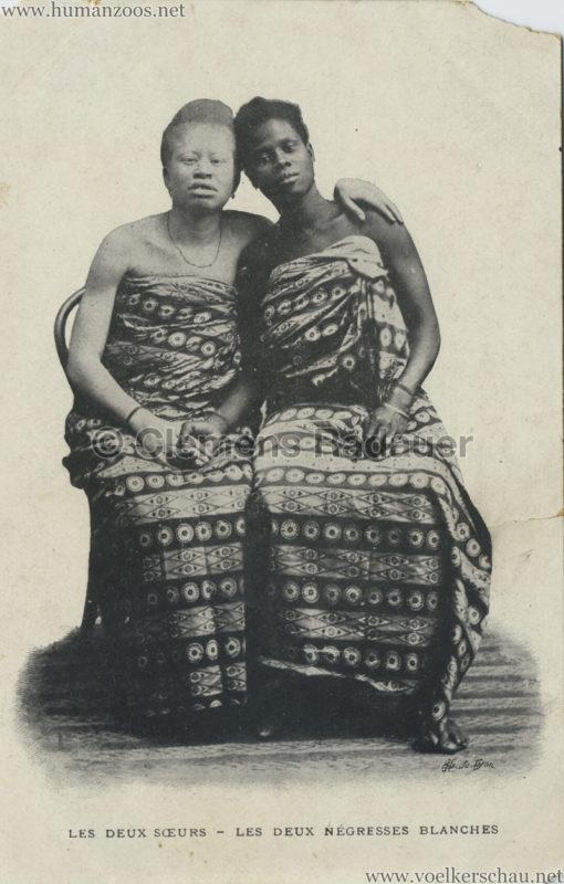 Les deux soeurs - Les Deux Negresses Blanches