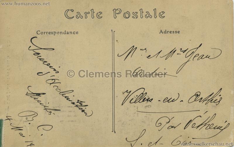 ND 10 - Chef foula et sa Famille - Jardin d'Acclimatation 1914 RS