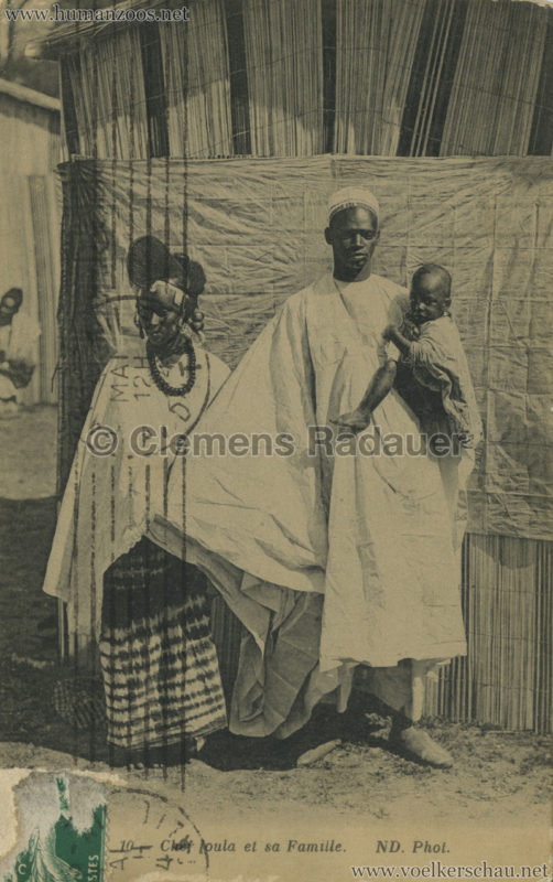 ND 10 - Chef foula et sa Famille - Jardin d'Acclimatation 1914 VS