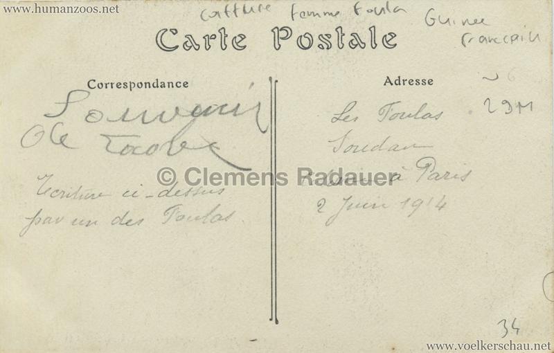 ND Yssaga Hiera Foula - Jardin d'Acclimatation 1914 RS