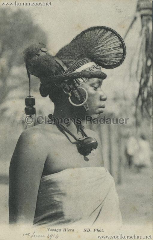ND Yssaga Hiera Foula - Jardin d'Acclimatation 1914 VS