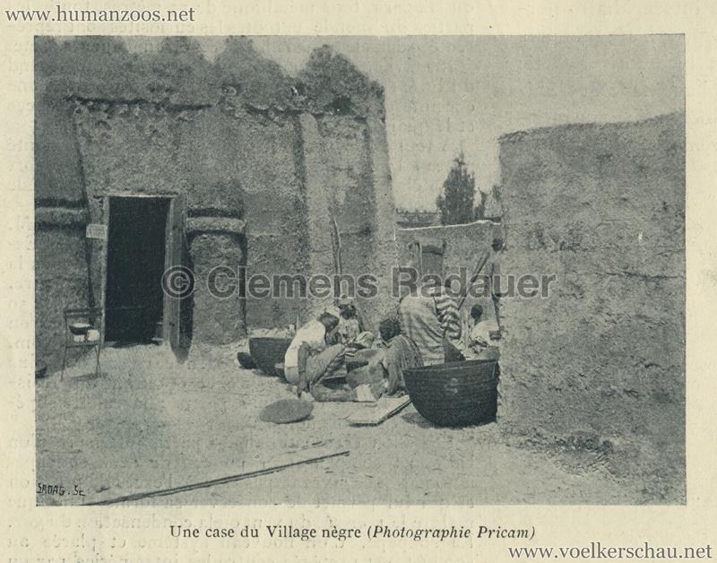 1896.05.29 L'Exposition Nationale Suisse Geneve - Journal Officiel Illustre 19 - Village Noir 1