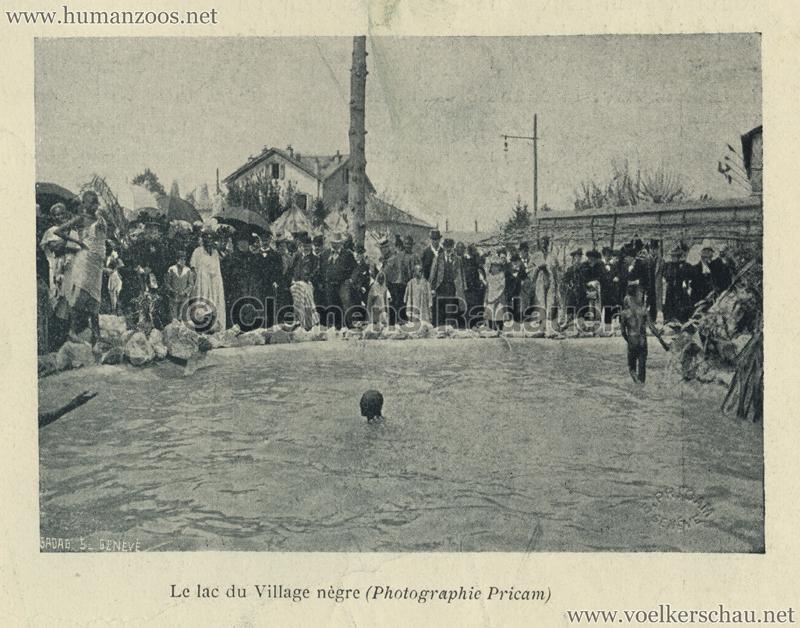 1896.05.29 L'Exposition Nationale Suisse Geneve - Journal Officiel Illustre 19 - Village Noir 2