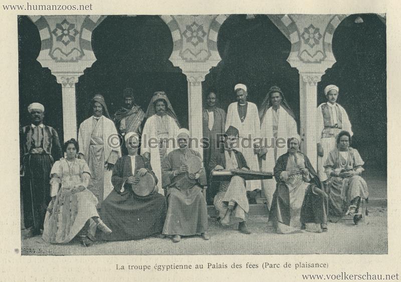 1896.06.05 L'Exposition Nationale Suisse Geneve - Journal Officiel Illustre 20 - Troupe Egyptienne
