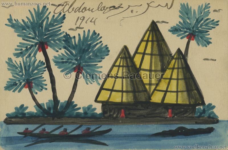 1914 Exposition Coloniale Lyon Village Senegalais Abdoulaye 4
