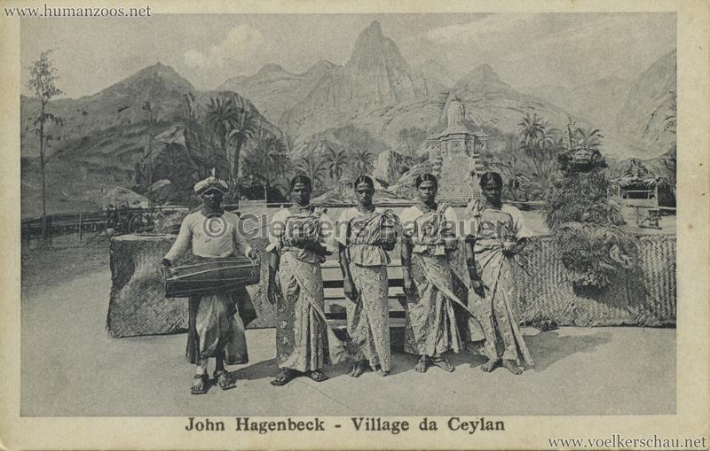 1926 John Hagenbeck - Village da Ceylan 4 (1928)