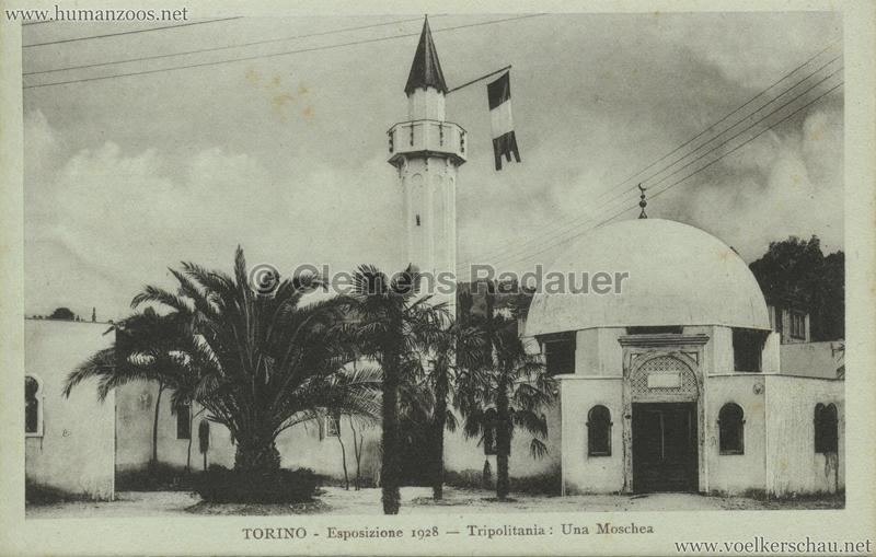 1928 Esposizione Torino - Tripolitania Una Moschea