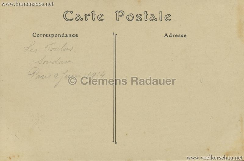 ND 13 - Un Chef et sa Femme - Jardin d'Acclimatation 1 1914 RS